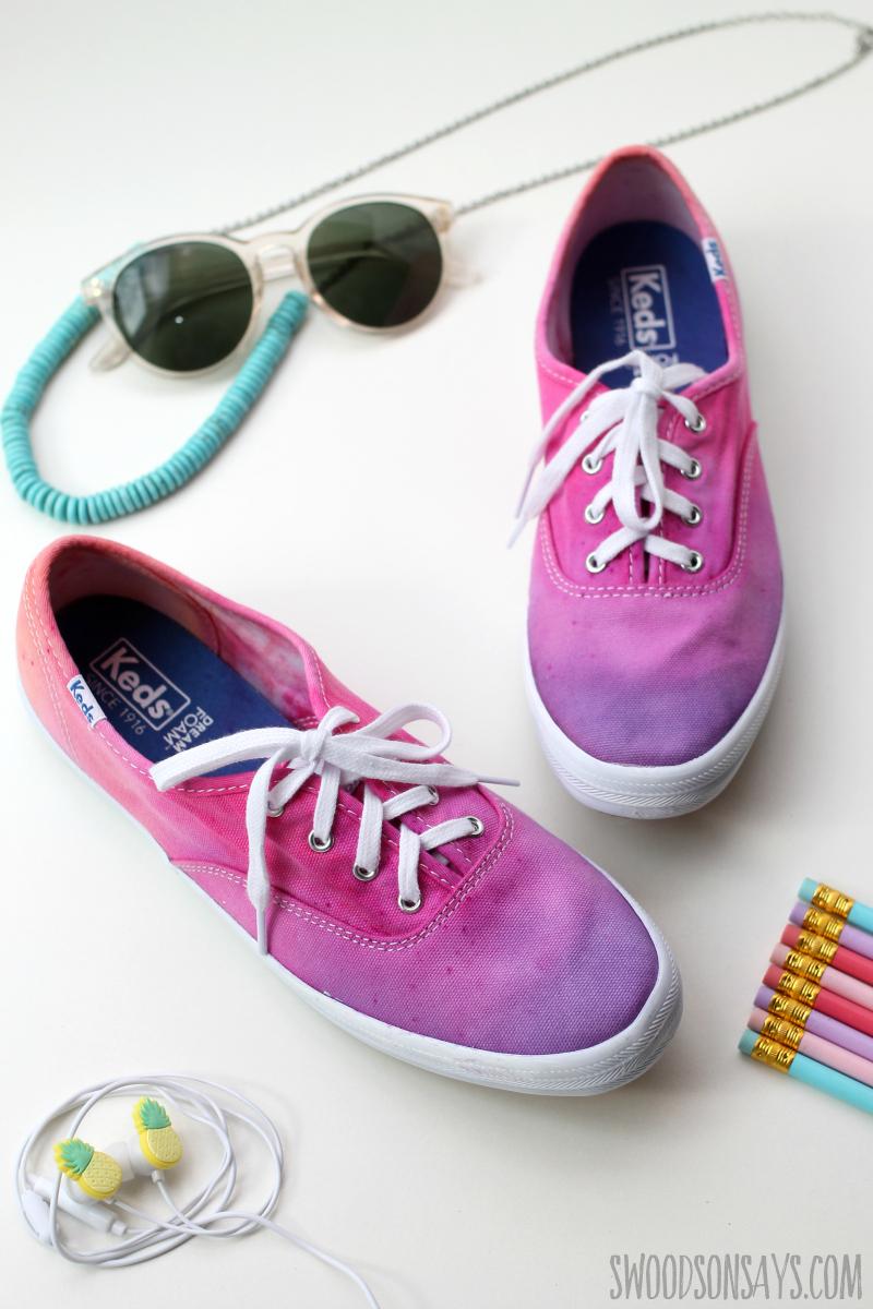 summer shoe craft