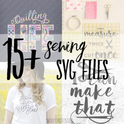 15+ fun sewing svg files