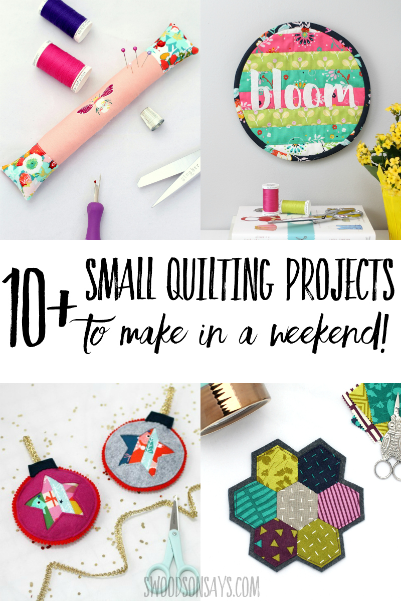 fast quilting projects