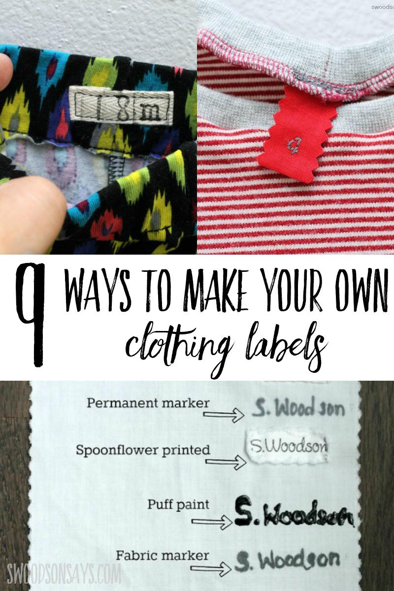 diy label tutorials