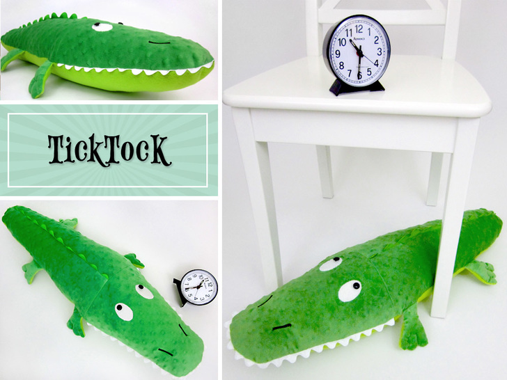 crocodile stuffed animal sewing pattern