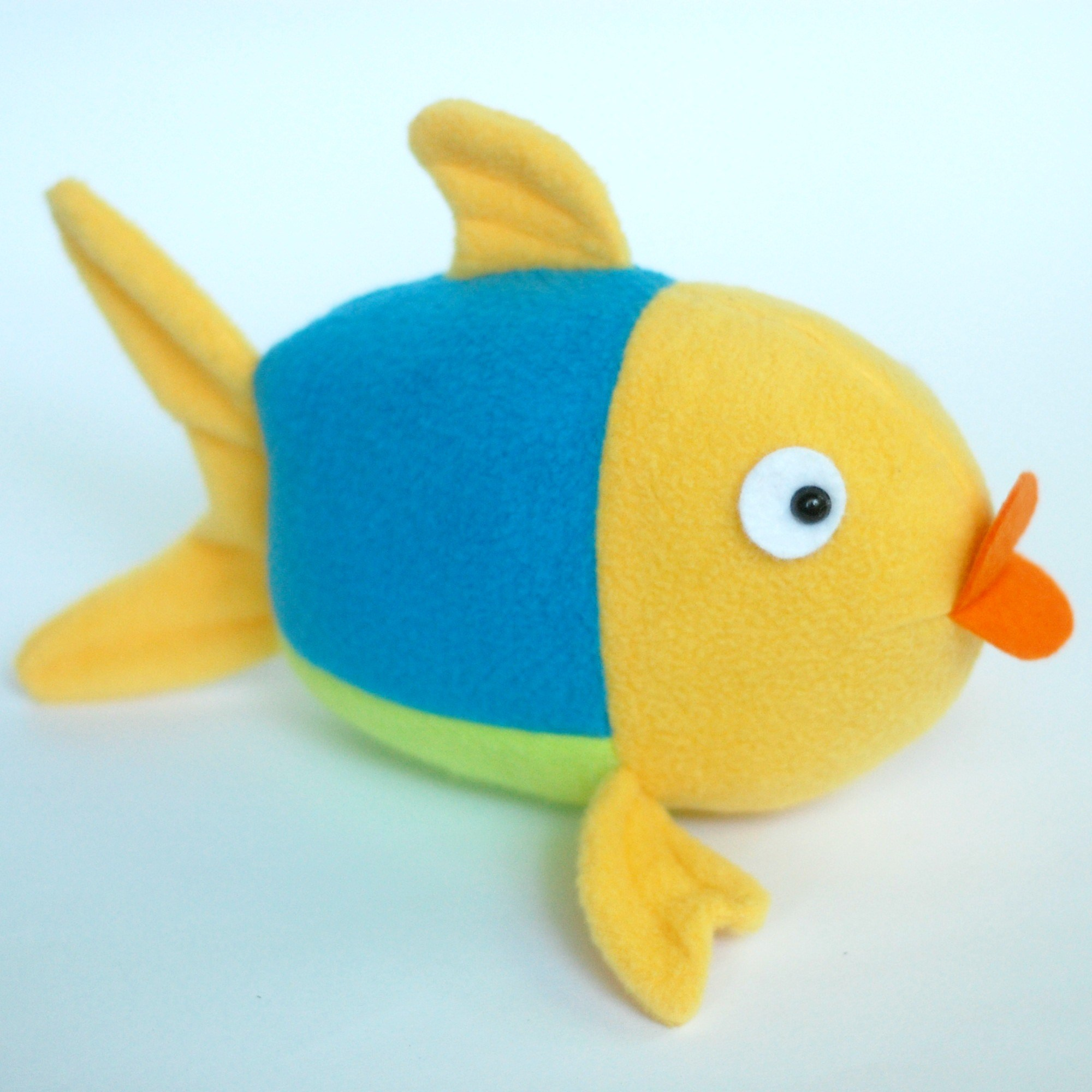 free fish sewing pattern