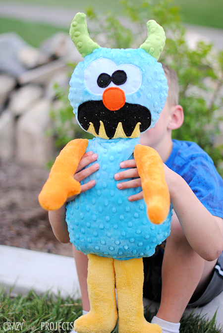 free monster stuffed toy pattern
