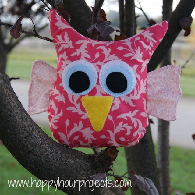 free owl stuffie pattern