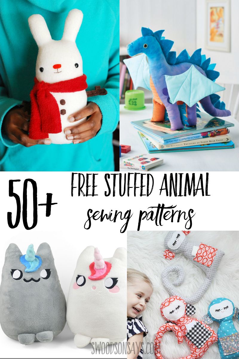 free stuffed animal patterns