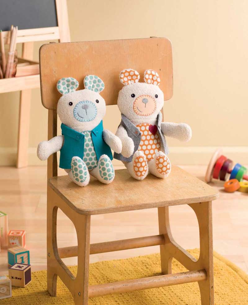 free teddy bear stuffed animal pattern