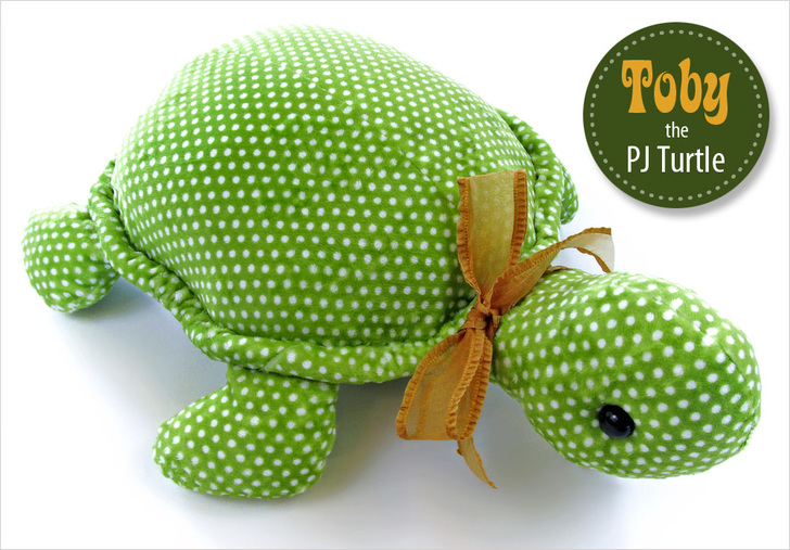 free turtle softie sewing pattern
