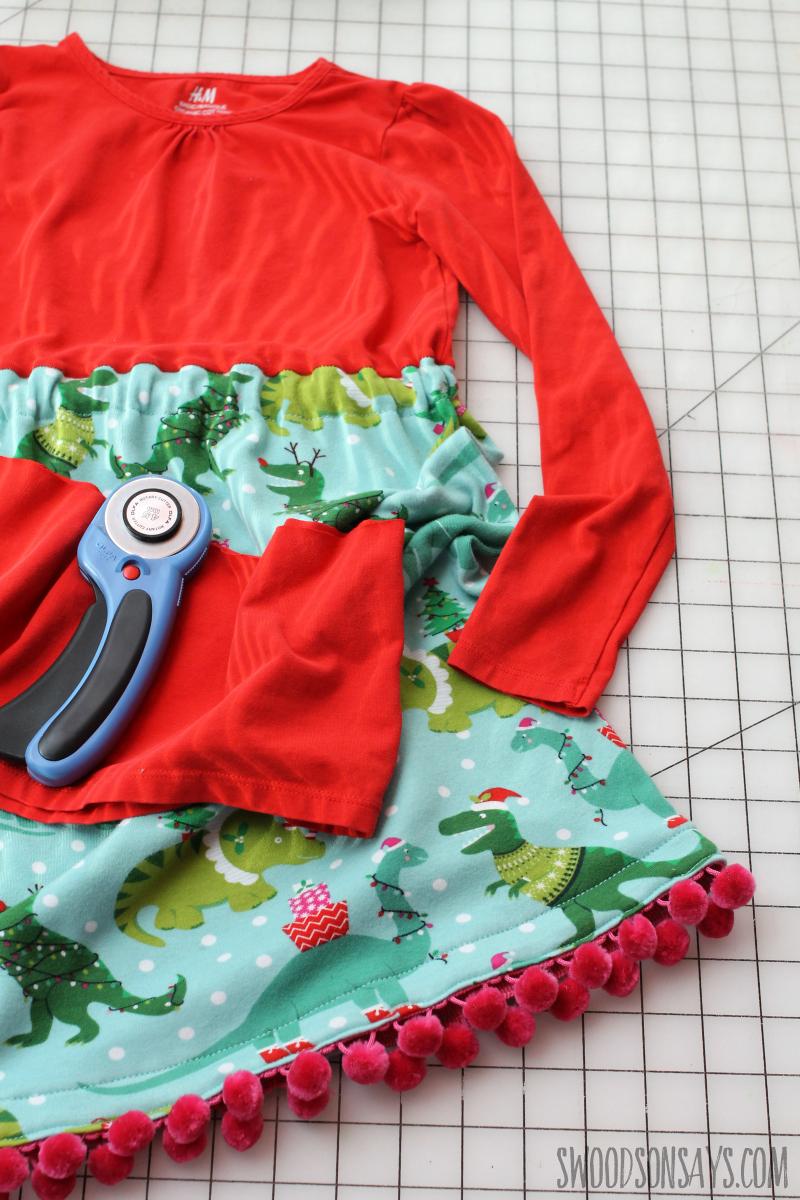 handmade tshirt dress tutorial
