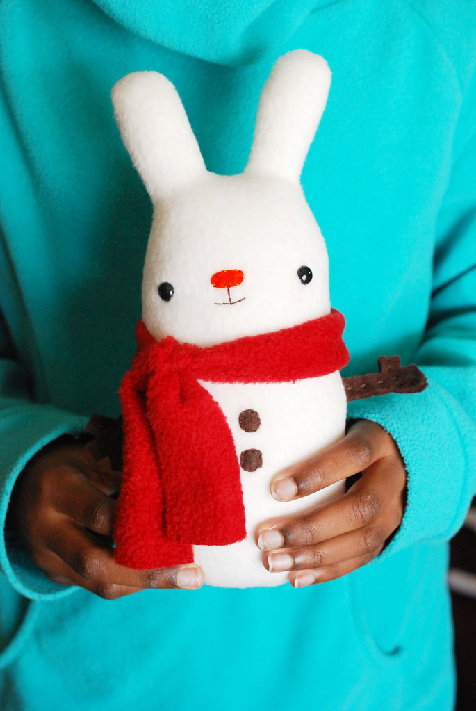 snow bunny sewing pattern
