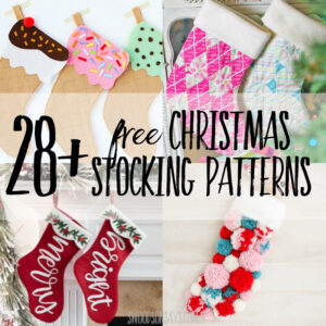 28+ free Christmas stocking patterns
