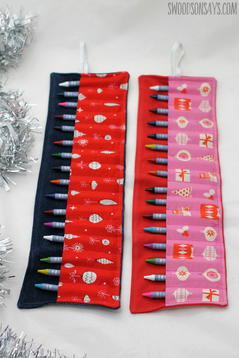 christmas stocking stuffer to sew idea