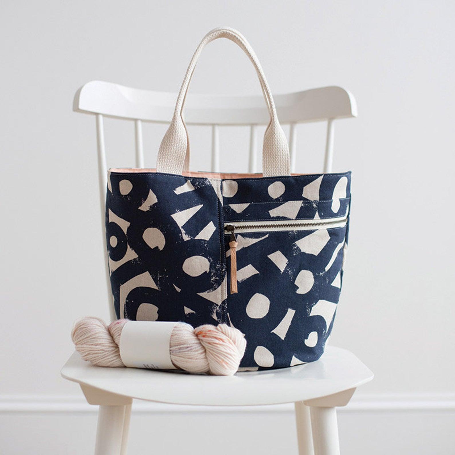 cotton tote sewing kit