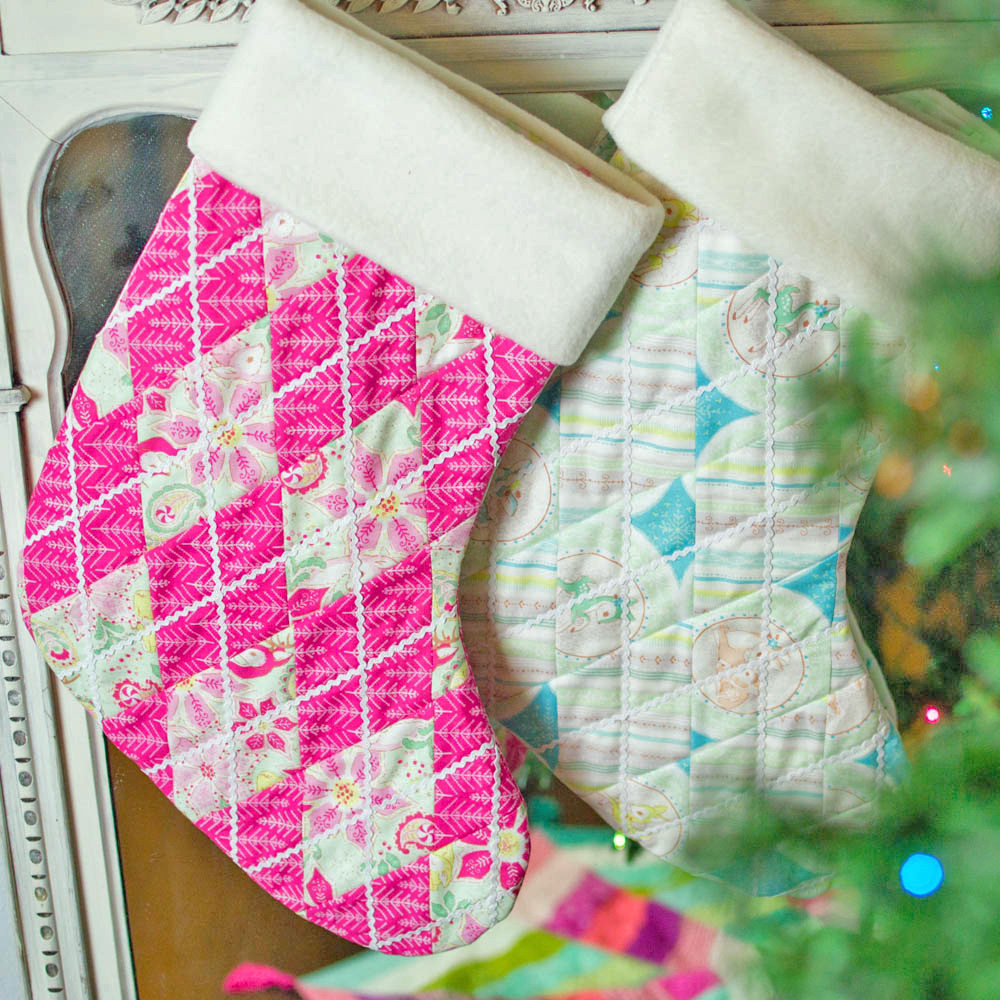 diy quilted stocking tutorial