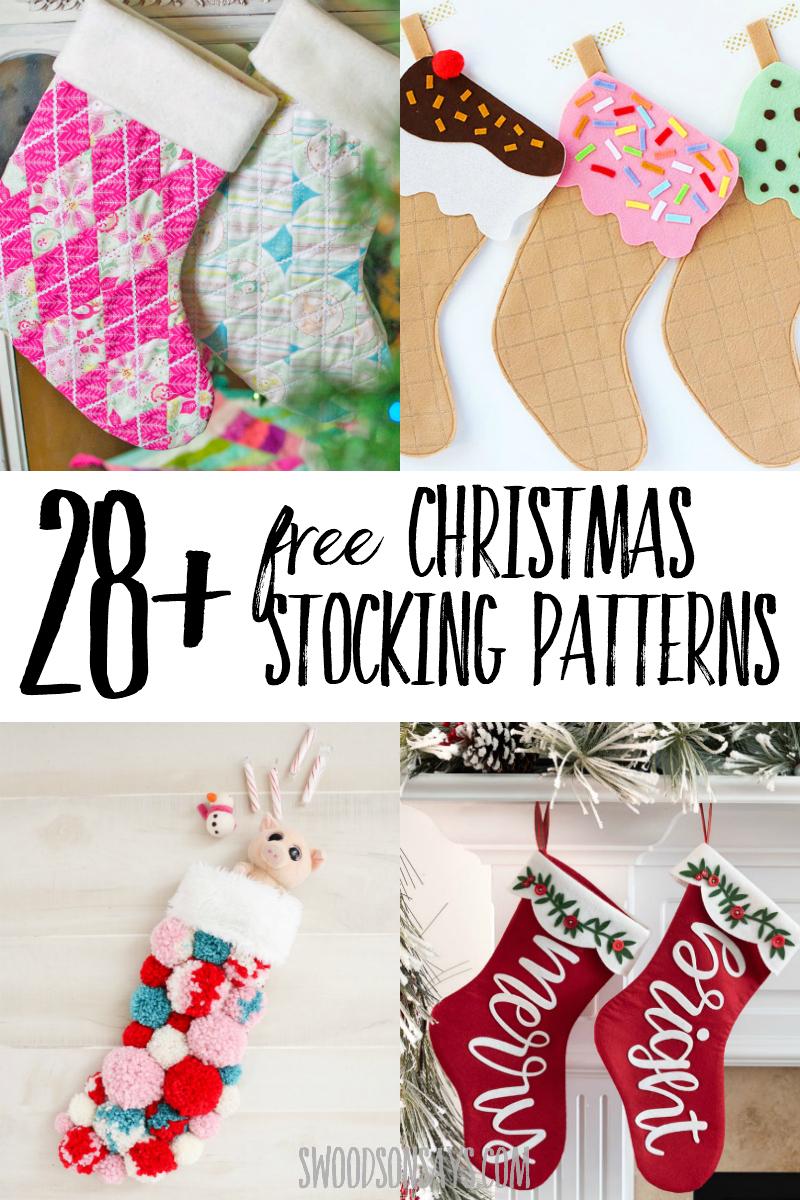 free christmas stocking sewing patterns