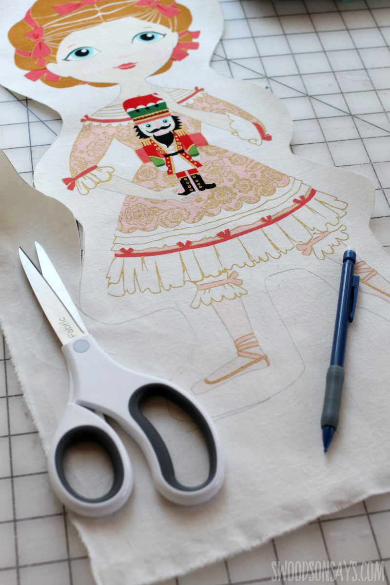 step 2 cut and sew softie