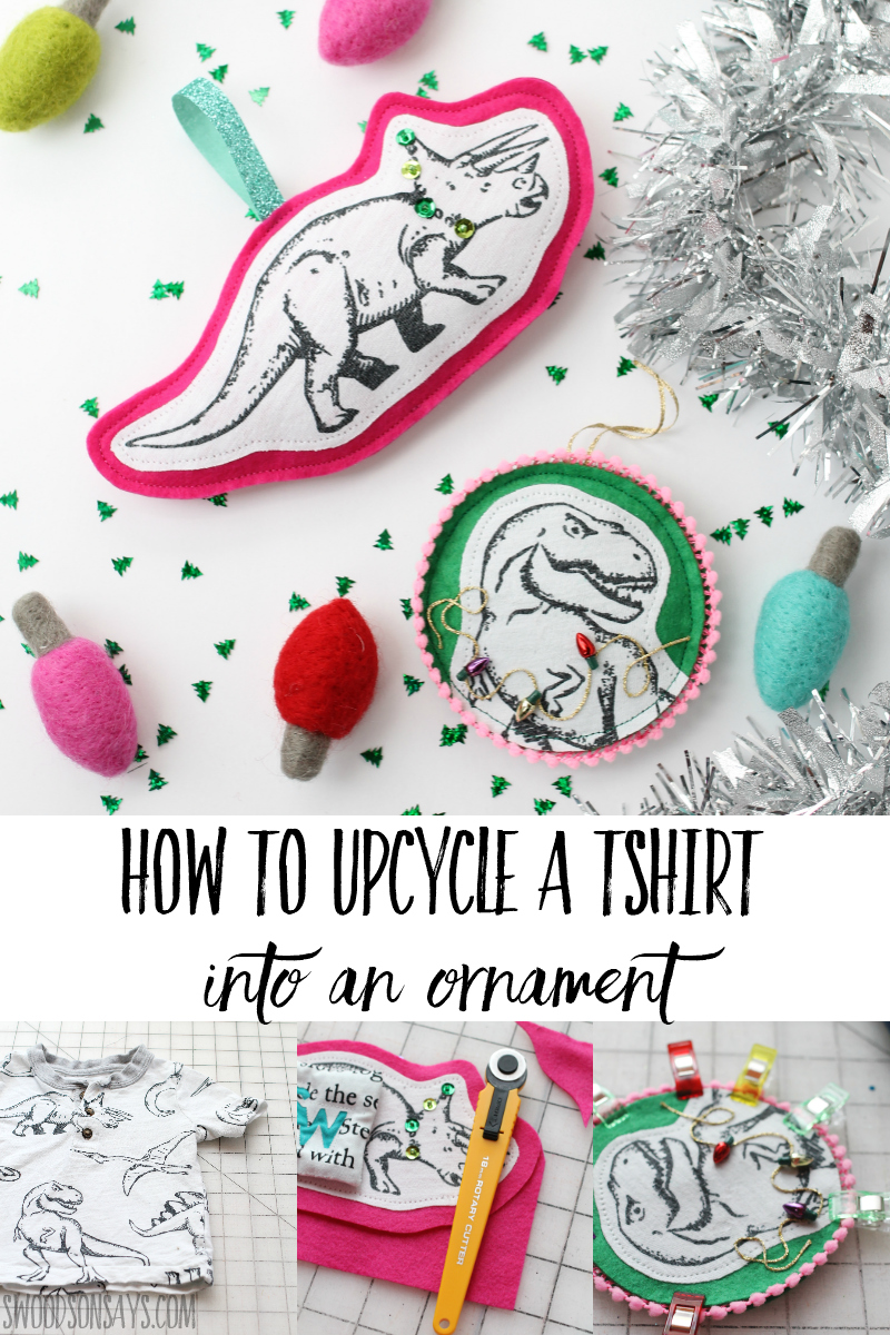 upcycled ornament sewing tutorial