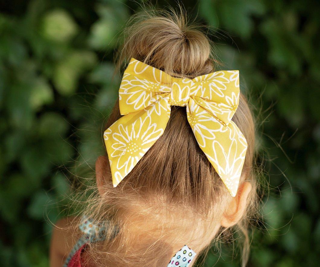 free fabric bow pattern 2
