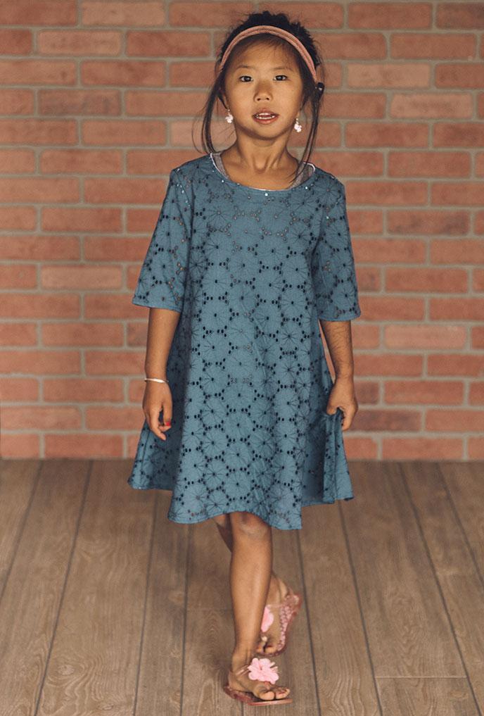 free girls dress pattern