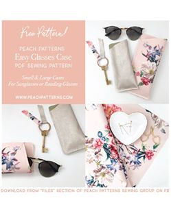 free sunglasses case pattern