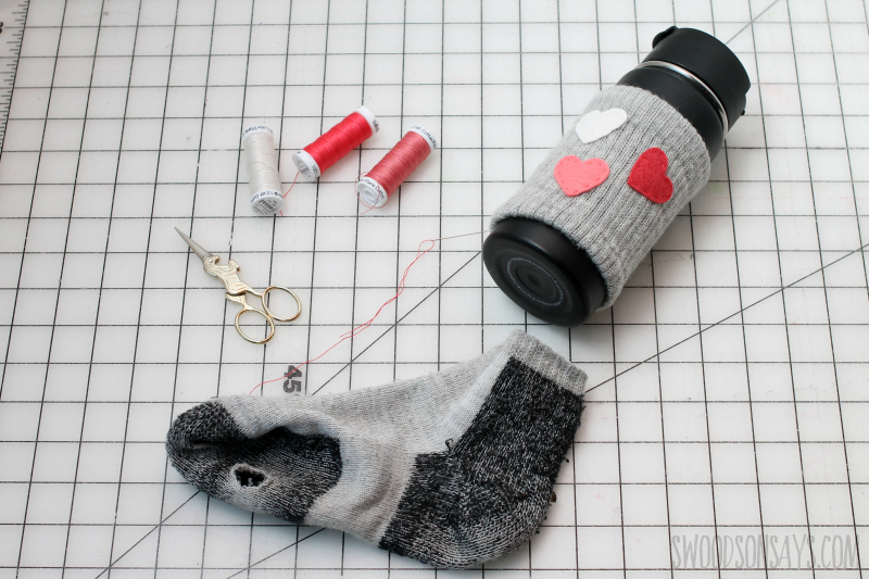 upcycled sock craft