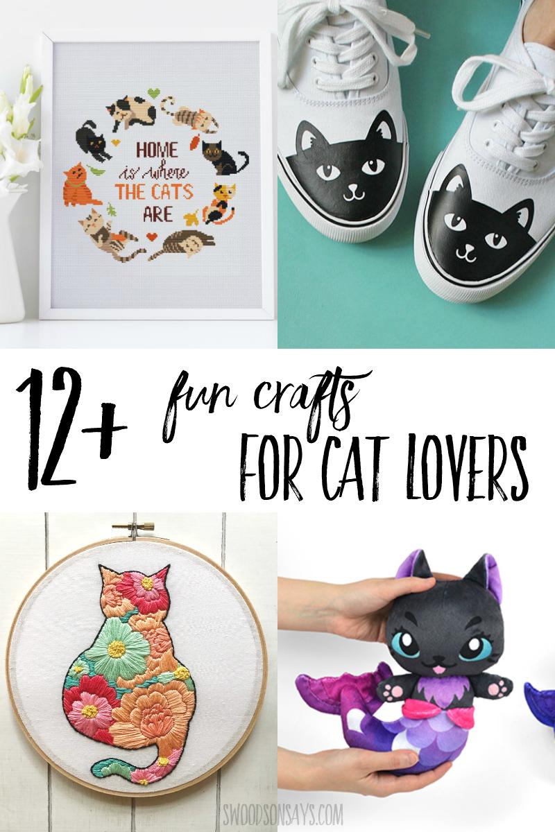 cat lover crafts