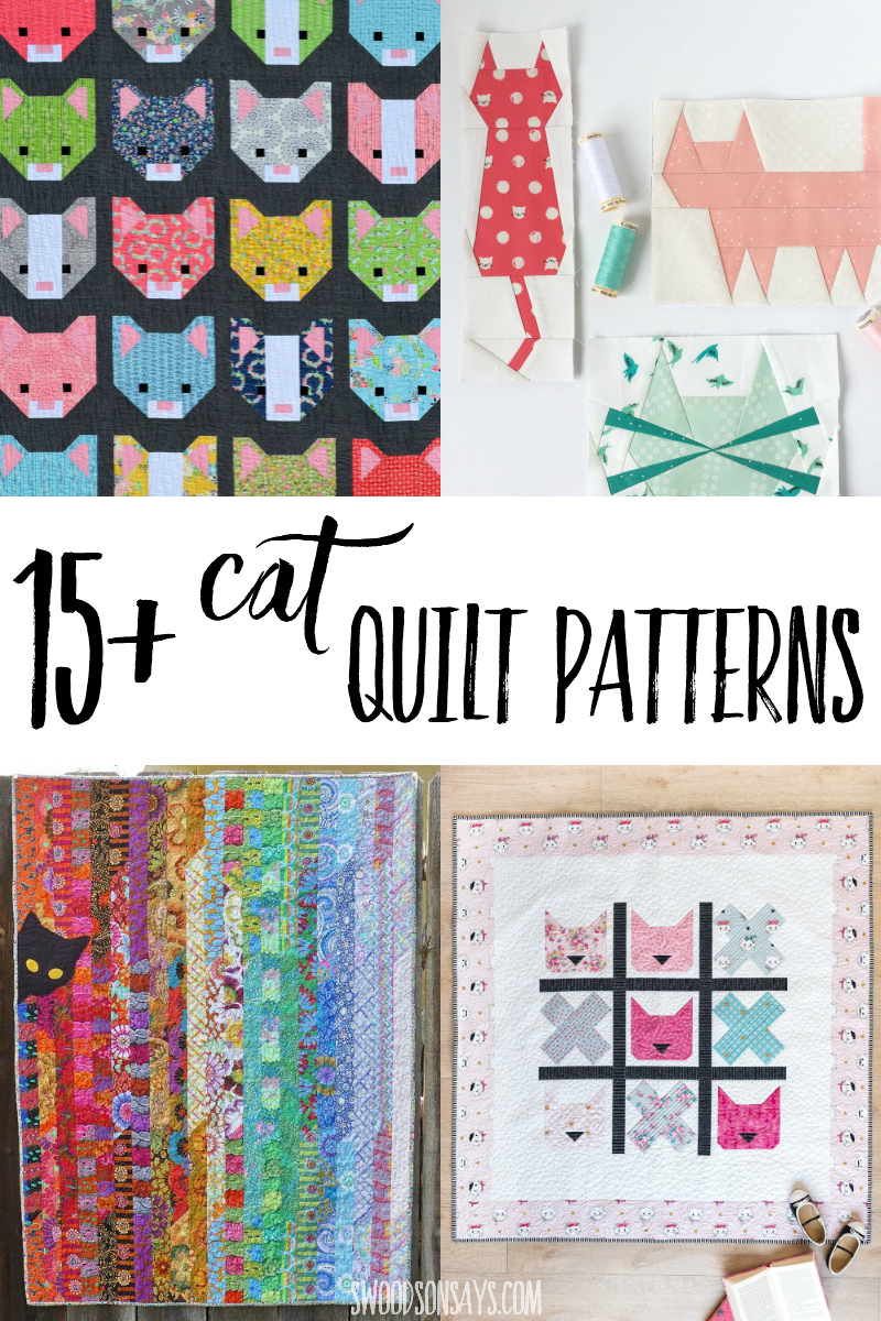 cat quilts to sew