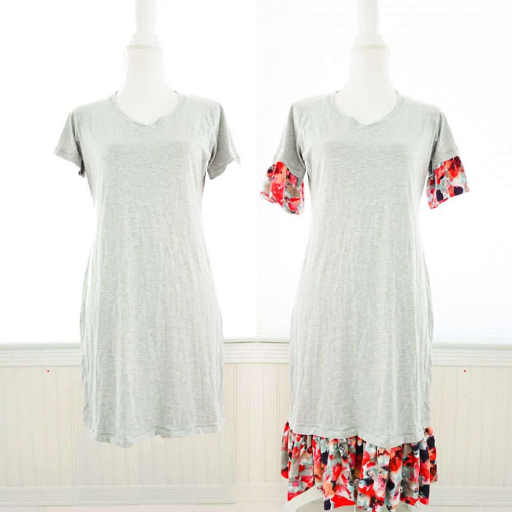 add ruffle dress tutorial