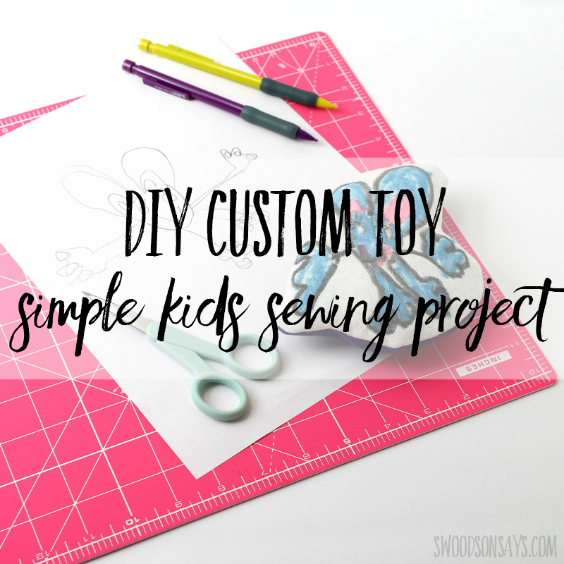 DIY Plush Toy – simple sewing project for kids with video