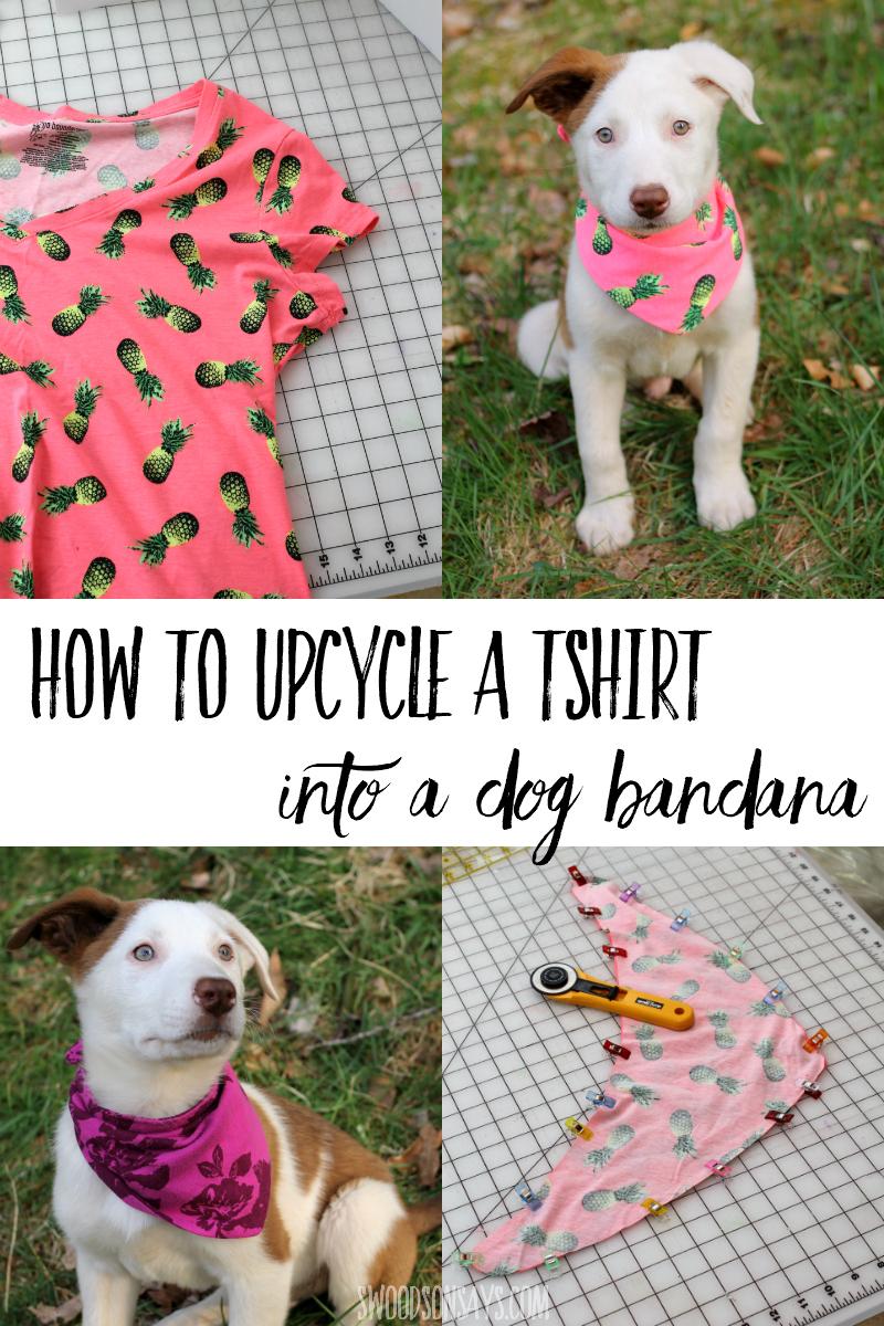 free dog bandana pattern