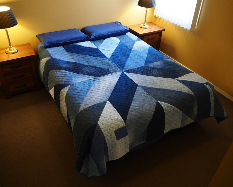 upcycled denim quilt pattern