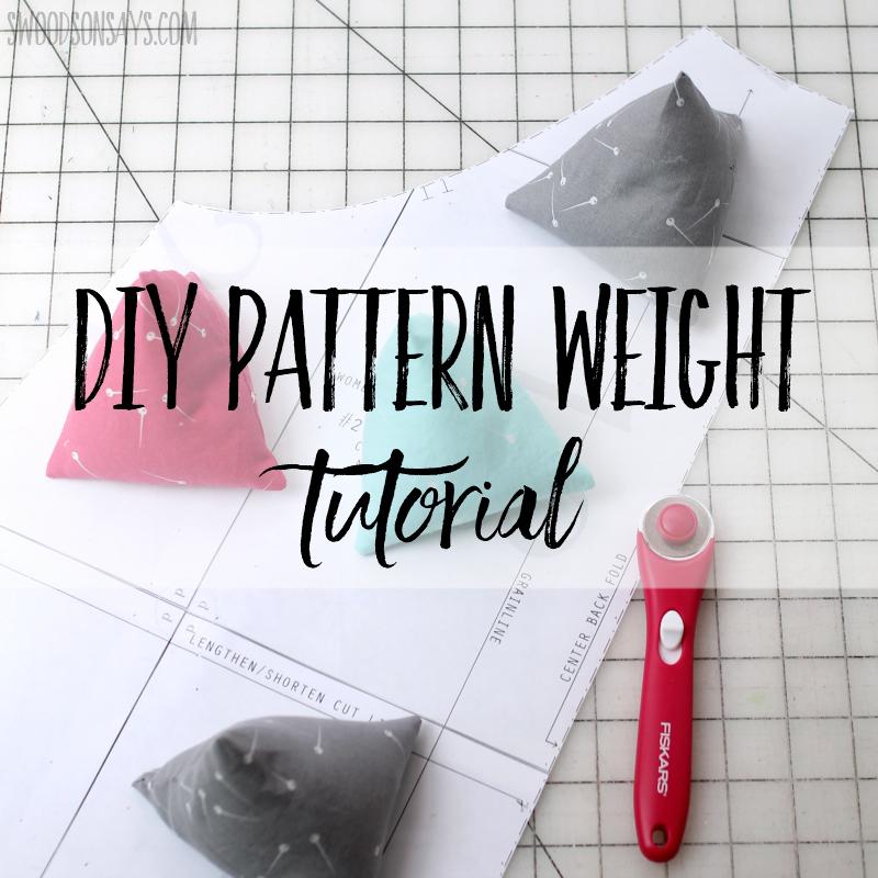 DIY pattern weight tutorial