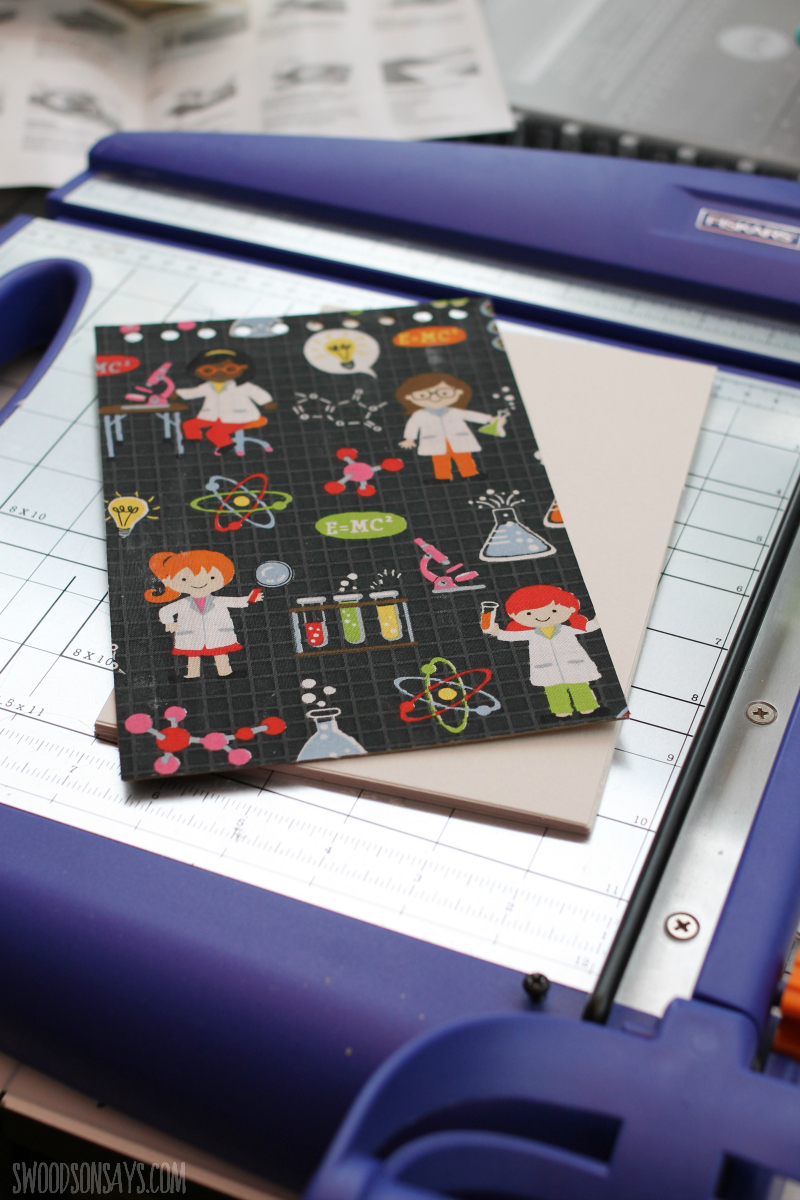 diy notebook tutorial