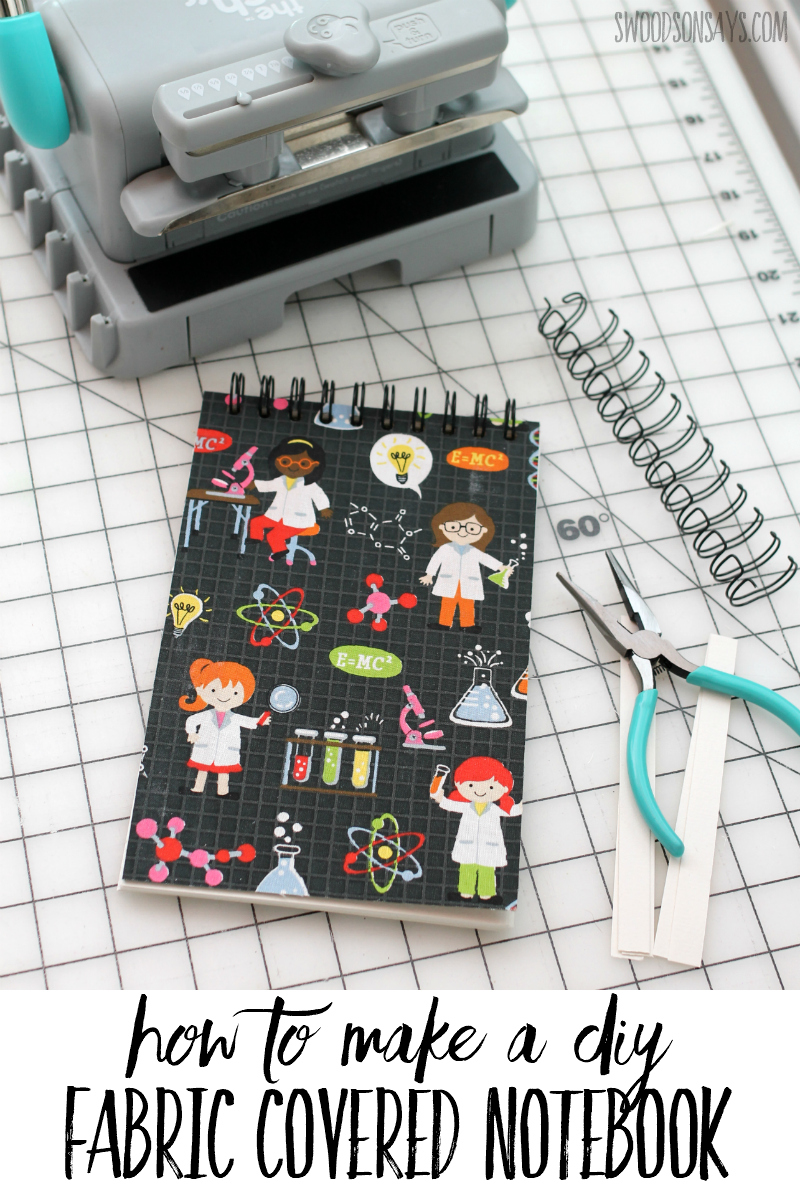 how to make a notebook at home