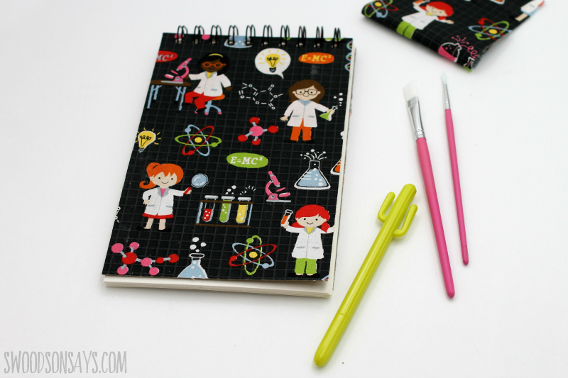 how to make a wire bound notebook