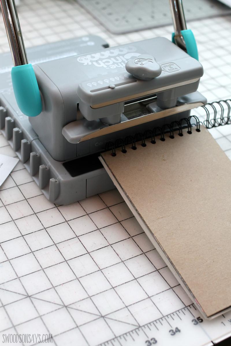 the cinch binding machine