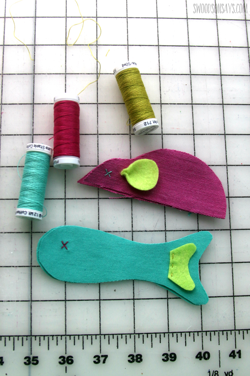 hand embroidered cat toy tutorial