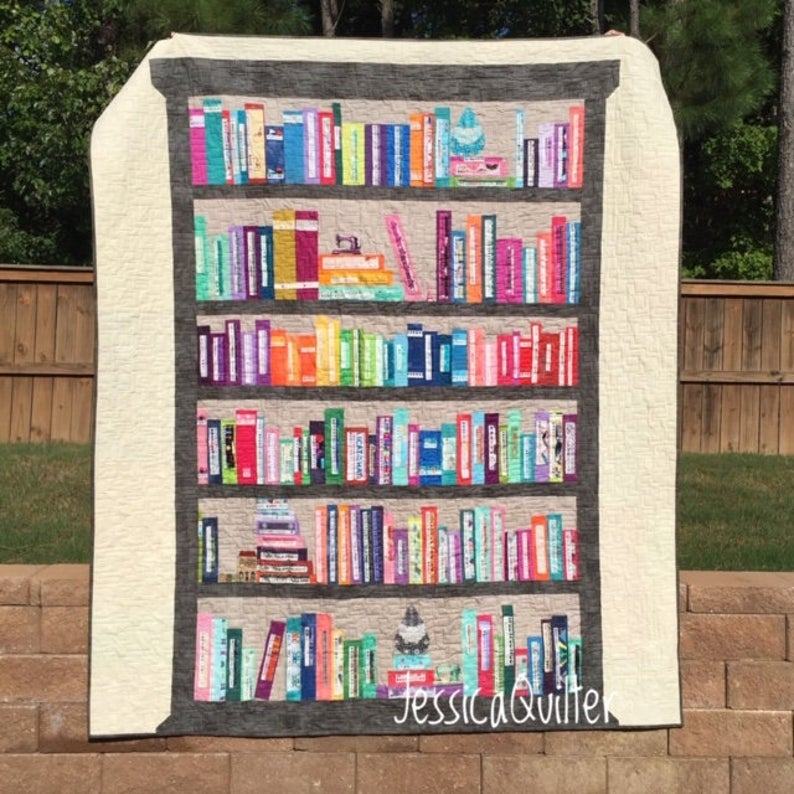 bookshelf quilt pattern