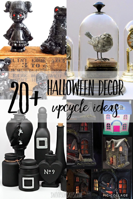halloween diy thrift store decor